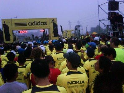 Lima Marathon start
