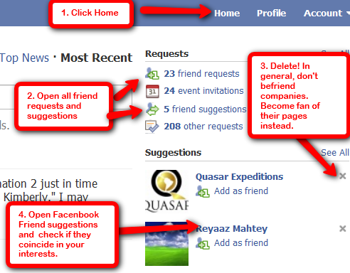 how to get 5000 friends on facebook fast