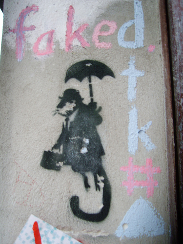 Faked Banksy Faked profile