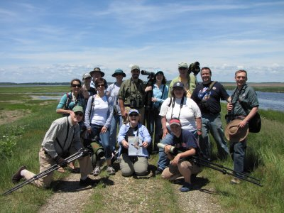 Birders who Blog, Tweet and Chirp. Photo: Dawn Fine.