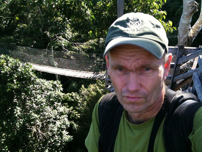 Gunnar Engblom at InkaTerra Canopy Walkway Reserva Amazonica